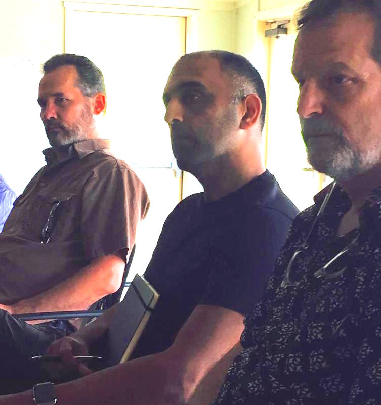 Tim, Pedram & Daniel at the Evolutionary Leaders Retreat 2015